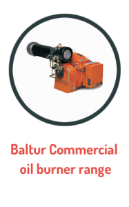 Baltur Commercial oil burner range