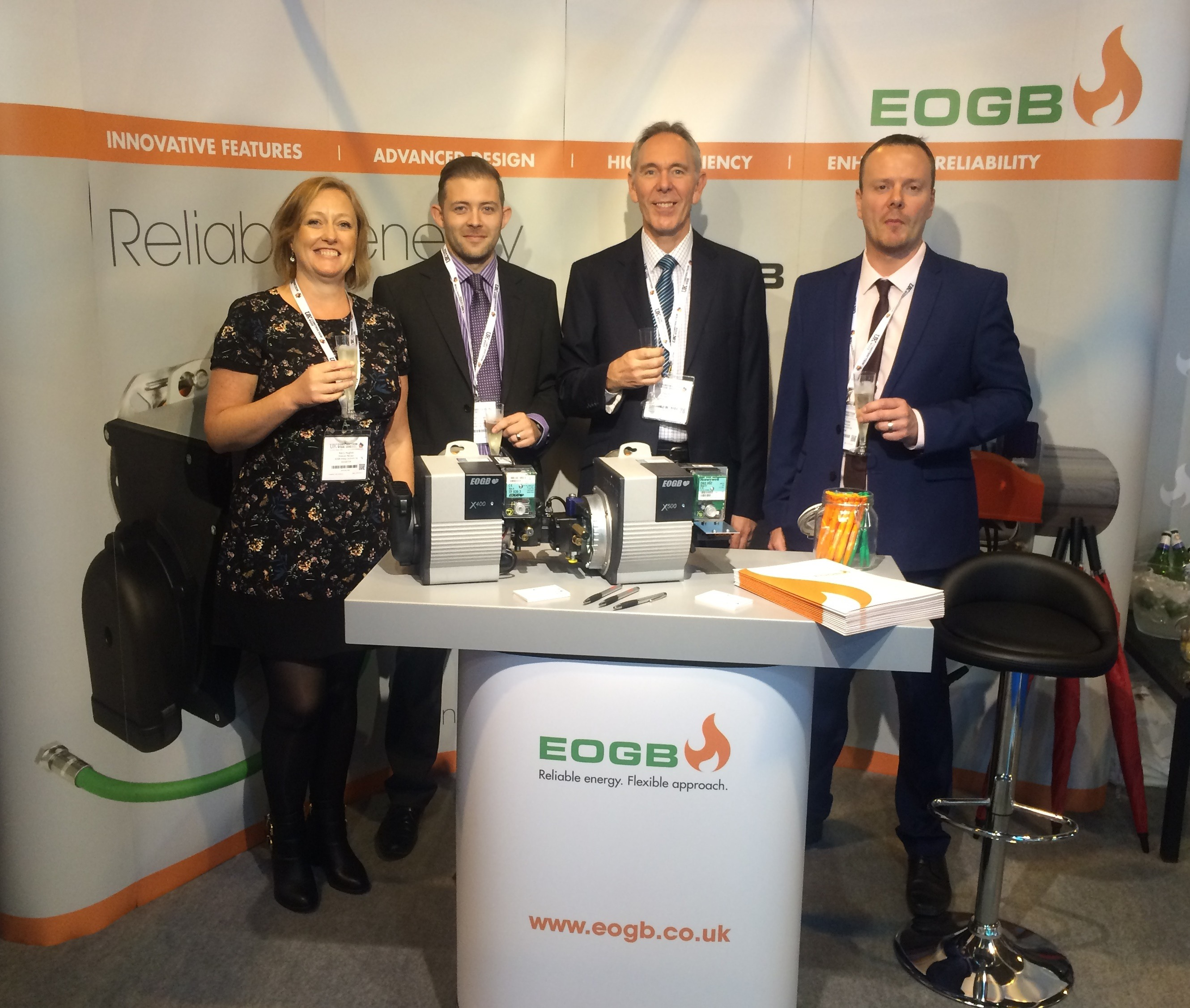 EOGB team UK Construction Week