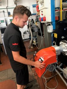 EOGB's Trainee Technical Engineer, Andrew Cooke
