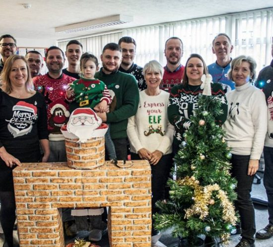 EOGB Save The Children Charity Jumper Day