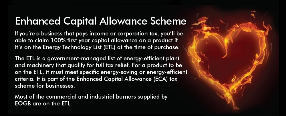 Enhanced Capital Allowance Scheme