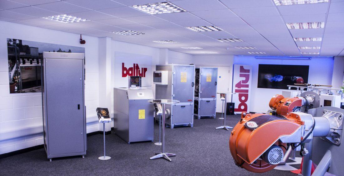 Baltur UK showroom
