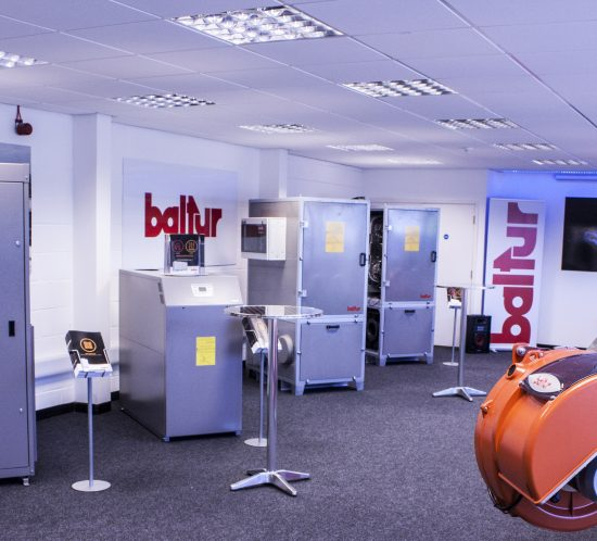 Baltur UK showroom