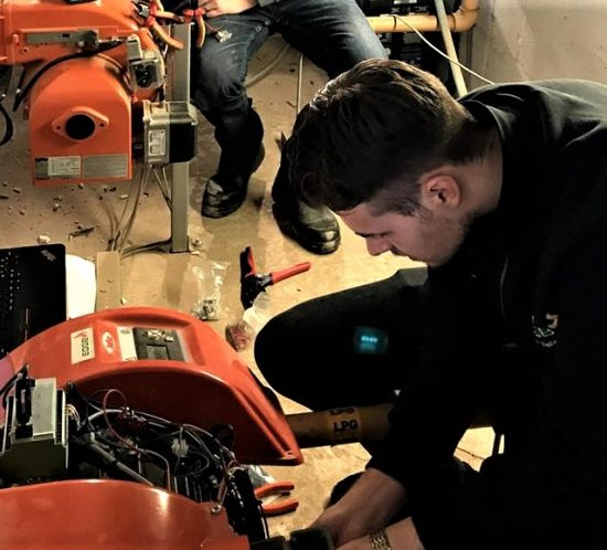 Apprenticeship Training with Baltur UK burners